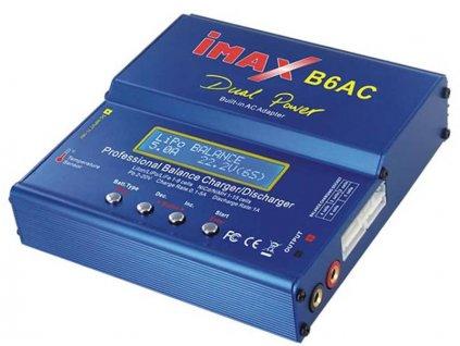 Nabíječ Imax B6AC 220V/12V pro NiCd, NiMH, Li-Pol, Li-Ion, LiFe, Pb