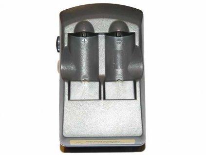 Nabíječ pro 2ks baterií CR123 Li-ion