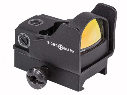 Kolimátor Sightmark Mini Shot Pro Spec w/Riser Mount, Zelená tečka