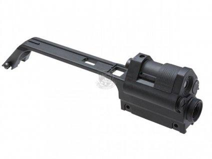 Transportní rukojeť s optikou 3x a kolimátor pro G36, černá