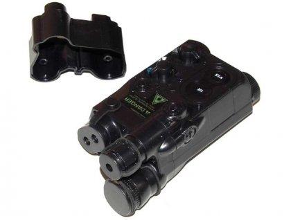 Box na akumulátor An/PEQ 16 - černý