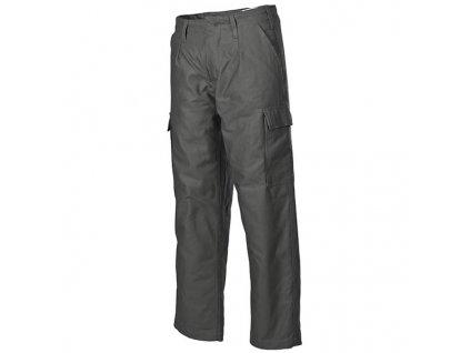 Kalhoty BW moleskin zateplené ZELENÉ vel.29