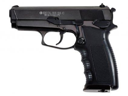Vzduchová pistole Ekol ES 66 Compact černá 4,5mm