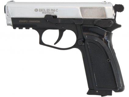 Vzduchová pistole Ekol ES P66 Compact chrom 4,5mm