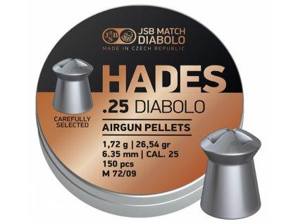 Diabolo JSB Hades 6,35mm 150ks