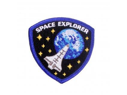 Nášivka SPACE EXPLORER velcro