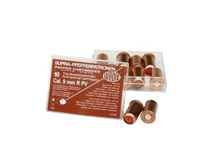 Náboj pepřový R PV SUPRA PFEFFER 9 mm 10ks revolver
