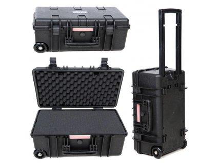 Kufr plastový přepravní na kolečkách 29 litrů