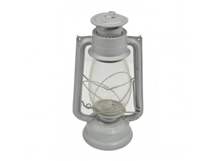 Lampa petrolejová METALOGLOBUS Nr.107 STŘÍBRNÁ