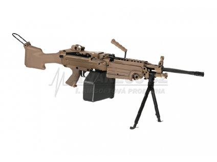 M249 - MK2(kovový mechabox) - TAN