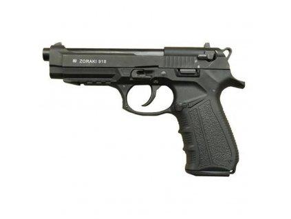 Pistole plynová ZORAKI 918-T cal. 9mm ČERNÁ