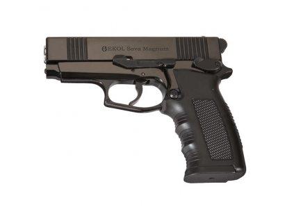 Pistole plynová EKOL Sava Magnum cal. 9 mm ČERNÁ
