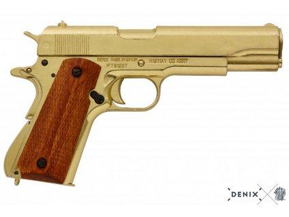 denix Automatic 45 pistol M1911A1 USA 1911 WWI II (5)