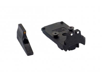 AAP01 ocelová montáž pro RMR a přední mířidlo