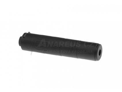 Rychloupínací tlumič M4-2000 (175 x 35 mm) - černý