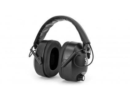 Sluchátka RealHunter Aktivní černé