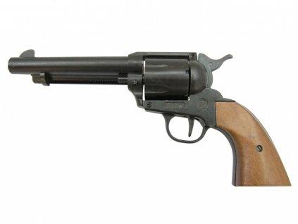 Plynový revolver Bruni Single Action Peacemaker černý cal.9mm