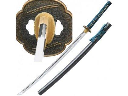 Katana Shikoto Hammer-Forged Longquan Master Teal