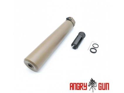 Tlumič QD SOCOM762 (-14mm levotočivý), FDE (FULL MARKING)