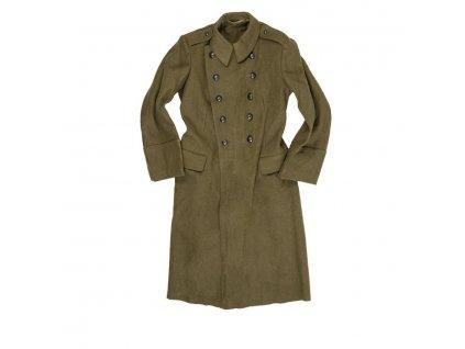 Kabát vlněný rumunský dvouřadé zapínání použitý
