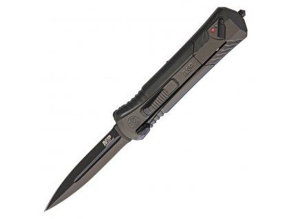 Nůž OUT THE FRONT vystřelovací ČERNÝ