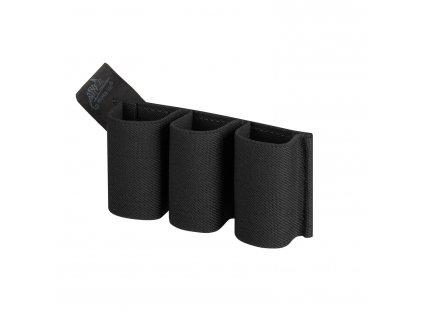 Insert ELASTIC na tři pistolové zásobníky ČERNÝ