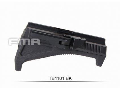 FMA QD Angled horizontální RIS rukojeť - černá