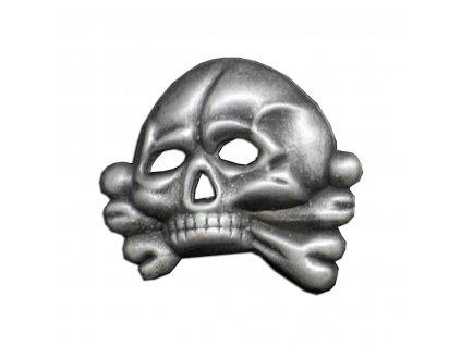 totenkopf skull baddge for cap