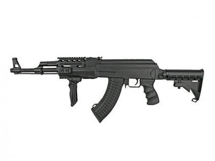 AK47 TACTICAL - výsuvná pažba - ABS (CM.522C)