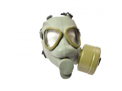 Maska plynová CHORVATSKÁ s pláštěnkou