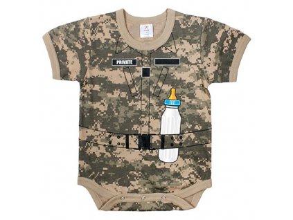 Body dětské SOLDIER ACU DIGITAL
