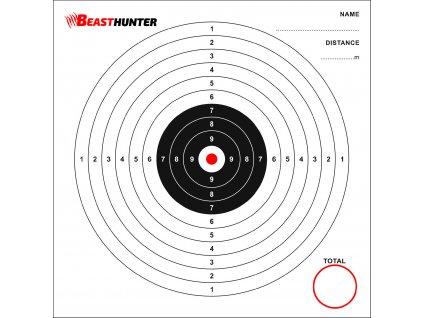 Terče BeastHunter 17x17cm bal.100ks
