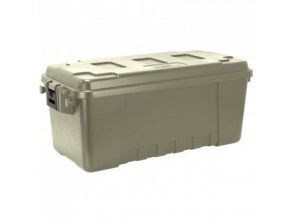 Bedna/box přepravní SPORTMAN´S TRUNK 64 l plast ZELENÁ