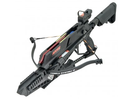 Kuše Beast Hunter Cobra RX Adder 130lbs black