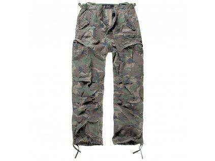Kalhoty M65 vintage WOODLAND