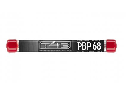 Kuličky T4E Pepper Ball Precision PBP .68 pepřové 10ks