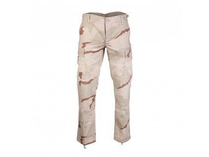 Kalhoty US BDU SLIM FIT polní rip-stop 3-COL DESERT