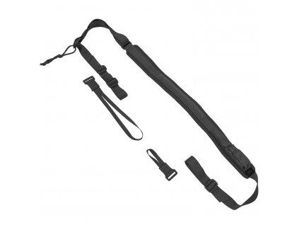 Popruh Carbine Sling 2-bodový, průvlečný - černý