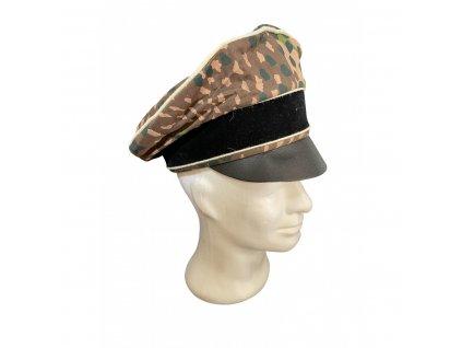 camouflage officers visor cap (1)
