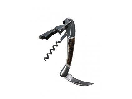 Vývrtka s nožíkem jelení shoz