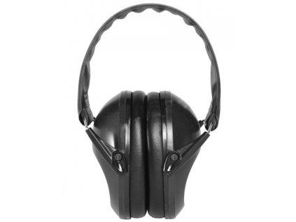 Sluchátka střelecká proti hluku ČERNÁ