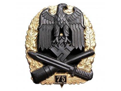 general assault badge 75 assaults