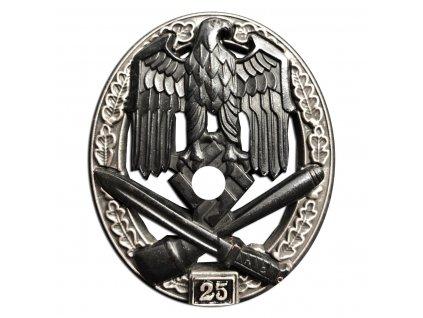 general assault badge 25 assaults