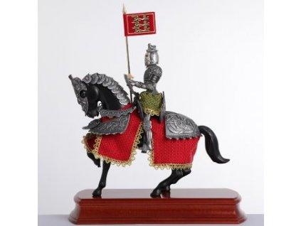 Soška rytíř na koni Prince Valiant