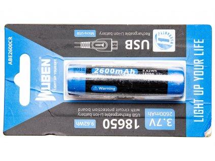Baterie Wuben 2600B Li-Ion 2600mAh