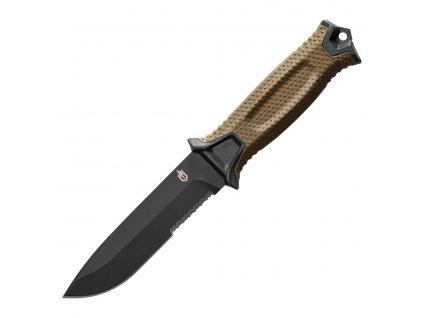 Nůž STRONGARM kombinované ostří, s pouzdrem COYOTE  + Voucher na další nákup