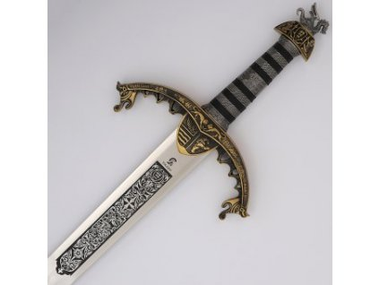 Meč Richard I. Lví srdce povrchová úprava bronz