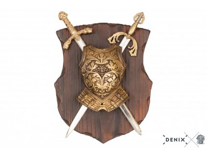 denix Panoply with cuirass and 2 swords (8)