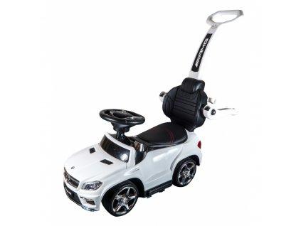 Siva Mercedes Benz GL63AMG - Slide Car 3v1 Bílá  + Voucher na další nákup