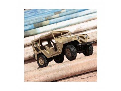 Americký jeep M151 1:14 pískový  + Voucher na další nákup